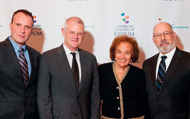 Dr. Alex Zendel, Yair Segev, Dr. Charlotte K. Frank, and David Mallach.