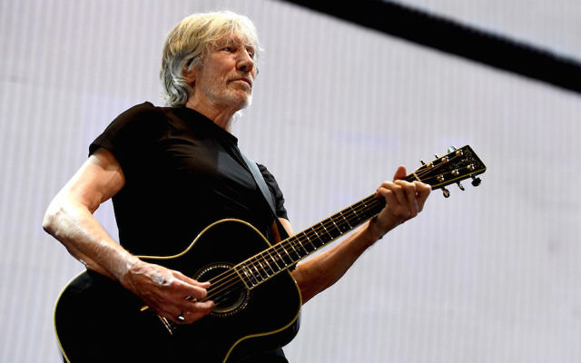 Roger Waters performing at the Staples Center in Los Angeles, June 20, 2017. (Kevin Winter/Getty Images)