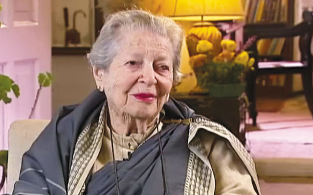 Shobha Nehru was born as Magdolna Friedmann; in Budapest, her nickname was Fori. She died in India, where she had lived for most of her life, at 108. (YouTube)