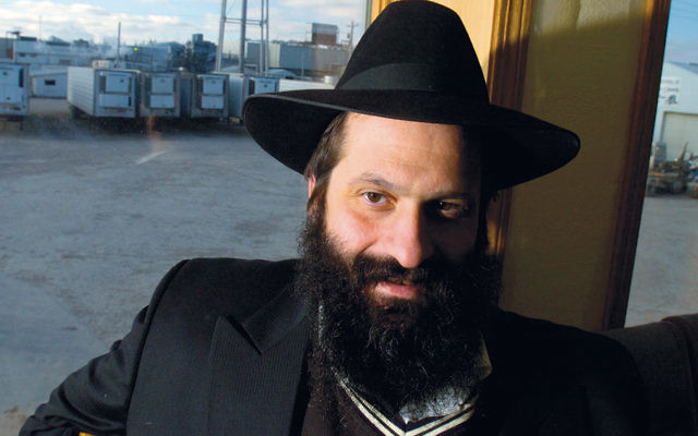 Sholom Rubashkin, seen in Postville, Iowa, in December 2004, served eight years of a 27-year prison term for bank fraud. (Zbigniew Bzdak/Chicago Tribune/TNS via Getty Images)