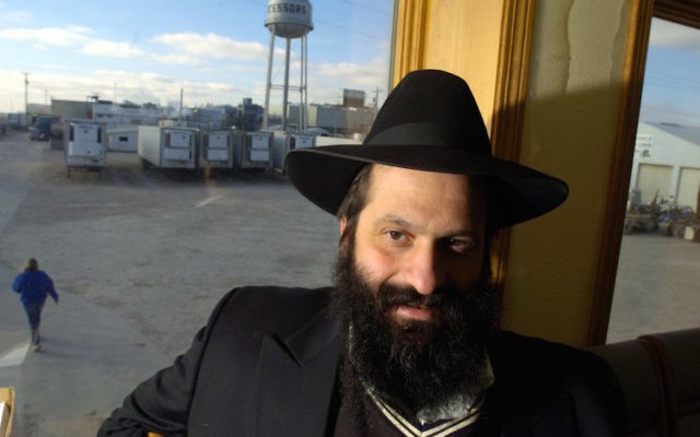 Sholom M. Rubashkin seen in Postville, Iowa, in December 2004. Rubashkin was sentenced to 27 years in prison for 86 counts of financial crimes as well as lying on the witness stand in 2009. (Zbigniew Bzdak/Chicago Tribune/TNS via Getty Images)