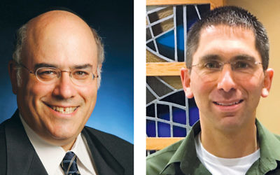 Rabbi Jacob J. Schacter, left, and Rabbi Paul Jacobson
