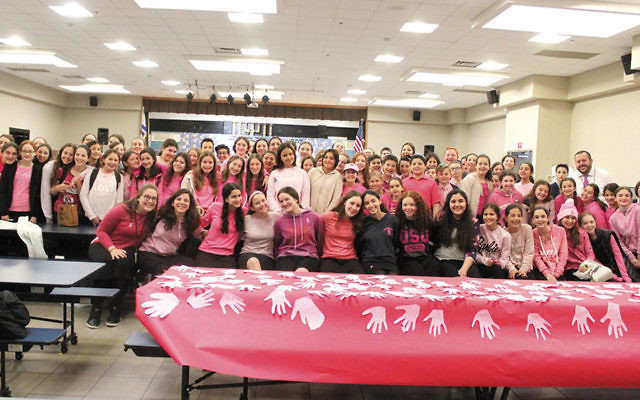 Pink Day at Moriah in Englewood.