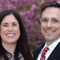 Amy and Dr. Joshua Fogelman