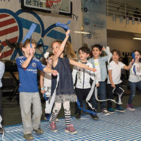 Children celebrate Israel at the Kaplen JCC on the Palisades. (Photos courtesy Alona Cohen Photography)