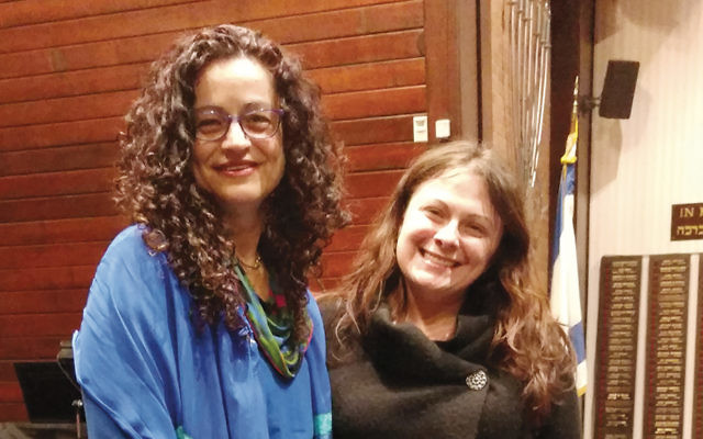 Rabbi Meeka Simerly, left, and Jessica Mickley. (Courtesy TBT)