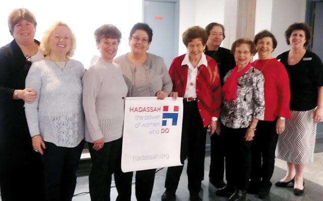 Members of the new Fair Lawn Hadassah board. (Photo courtesy Fair Lawn Hadassah)