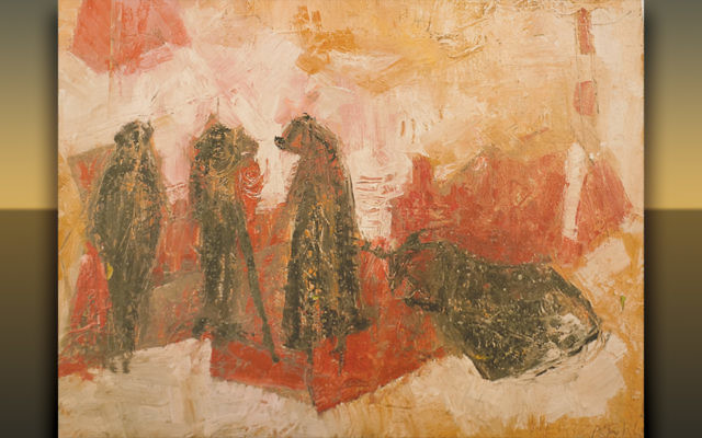 A painting by the late Rose Hertzberg