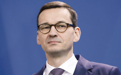 Poland's Prime Minister Mateusz Morawiecki (Michele Tantussi/Getty Images)