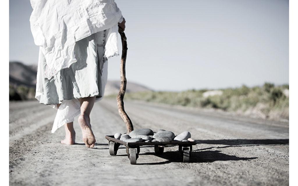 """Beth Krensky's """"Tashlich,"""" 2014, video still."""