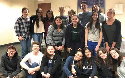 This year's HaZamir choir at Beth Sholom.