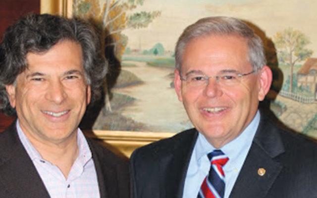 Daniel Straus and Senator Robert Menendez