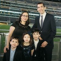 Dana Septimus and Joseph Feldman and family