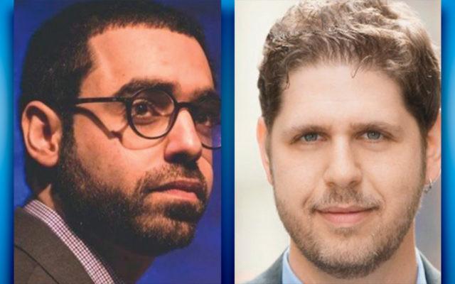Shy Kedmi, left, and Gilad Paz