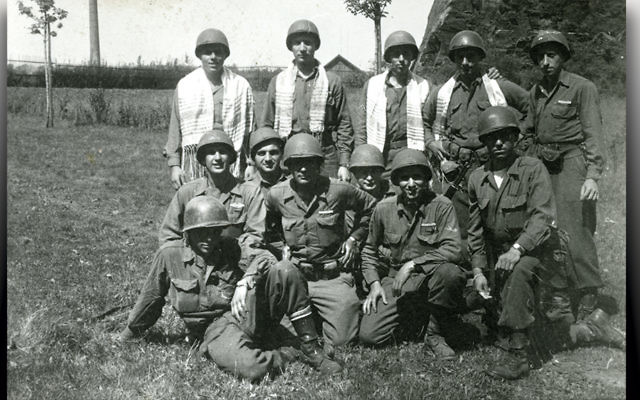 Jewish American soldiers in World War II. (Courtesy Turquoise Films)