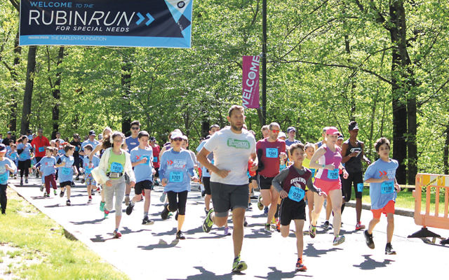 Adults and youths enjoy last year's Rubin Run. (Courtesy JCCOTP)