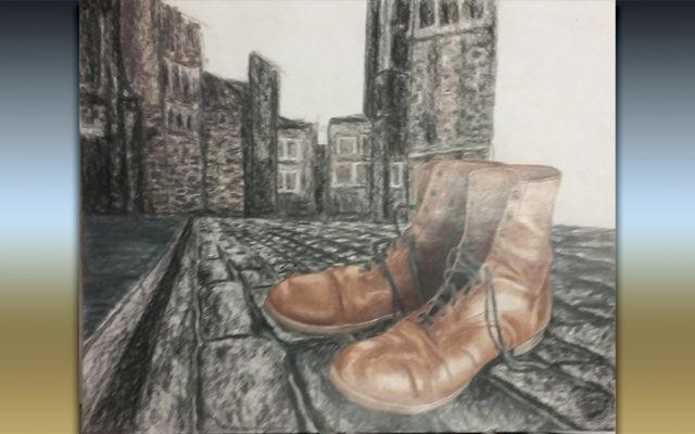 """""""The Journey"""" by Esther Brodsky (Courtesy Ma'ayanot)"""