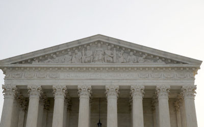 A view of the U.S. Supreme Court building in Washington, D.C., Dec. 4, 2017. (Win McNamee/Getty Images)