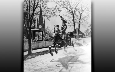 The Midnight Ride of Paul Revere (National Archives)