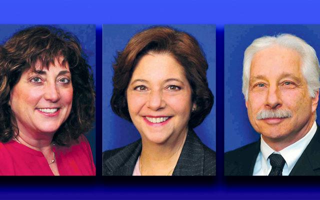 Paula Dillon, left, Jill Kantor, Howard Lieberman (Photos courtesy Barbara Balkin)
