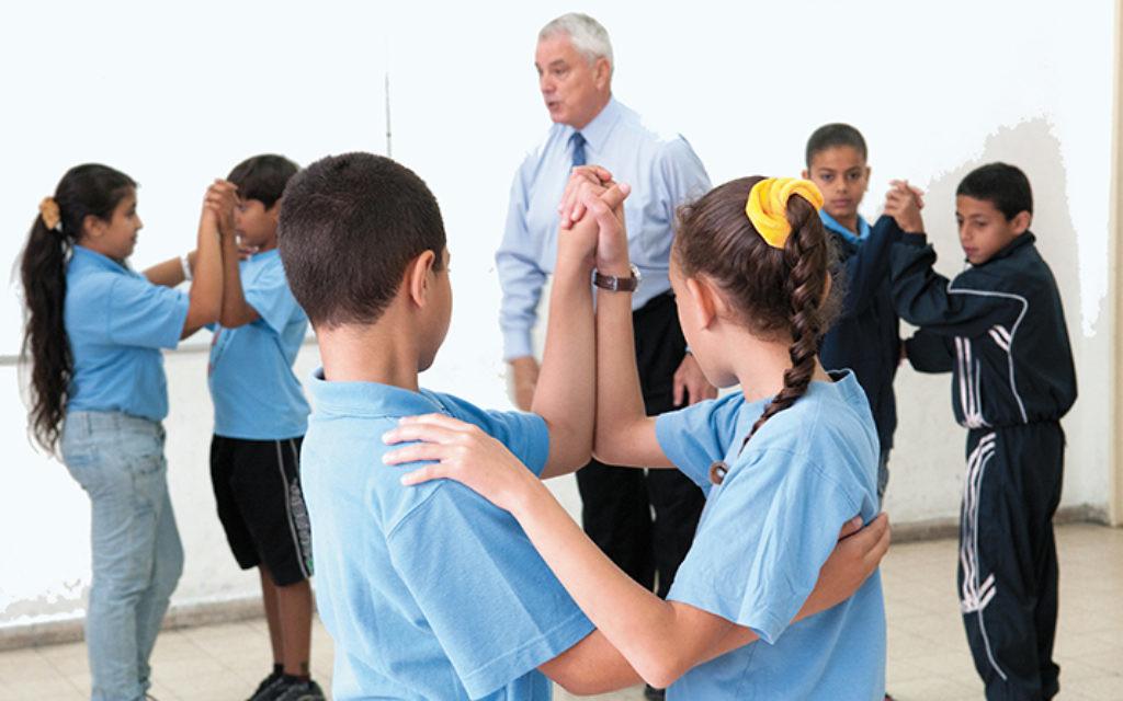 Pierre Dulaine teaches in Jaffa.