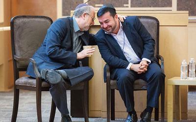 Yossi Klein Halevi and Imam Abdullah Antepli
