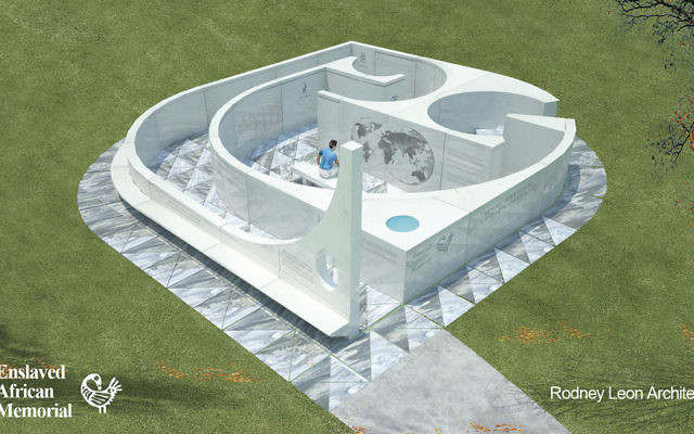 Architect Rodney Leonu0027s Rendering Of The Enslaved African Memorial. It Will  Share Space On The