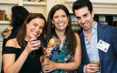 Erika Jacobs, Julie Fein, and Andrew Jacobs
