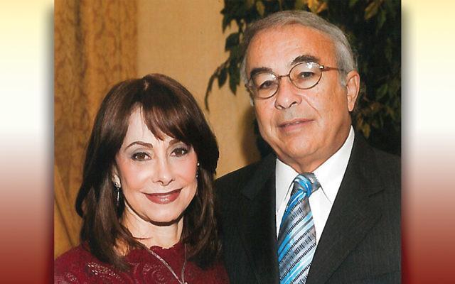 Arlene and the late Moshe Yehuda Fox (Photo provided)