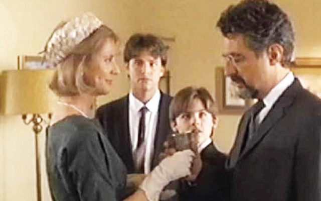 """A scene from """"A Call to Remember.""""(TENJ)"""