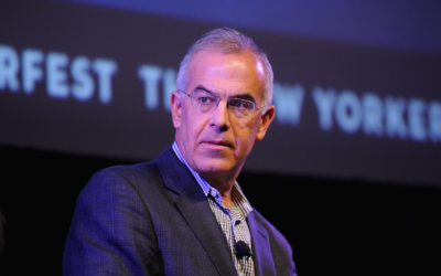 David Brooks speaks onstage at the The New Yorker Festival 2014 on October 19, 2014, in New York City. (Bryan Bedder/Getty Images for The New Yorker)