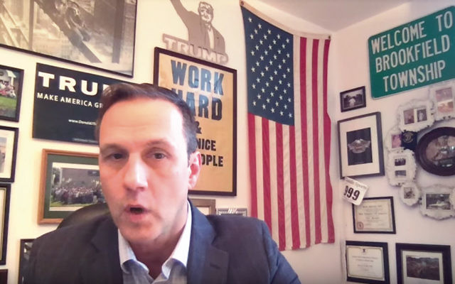 Paul Nehlen, who is running for Paul Ryan's House  seat in Wisconsin, is openly anti-Semitic. (Screenshot from YouTube)