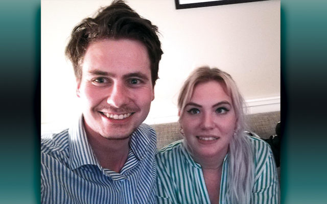 Paul van der Bas and Anne Fleur Dekker have been attacked by extremists since they went public with their romance. (Courtesy of Anne Fleur Dekker)
