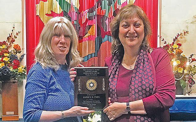 Janice Paul, left, and Joan Gottlieb. (Courtesy TBT)