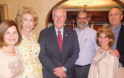 Dr. Lynn Sugarman, left, Deborah and Mark Meadows, Dr. David Wisotsky, and Naomi and Dr. Daniel Feuer. (Courtesy Norpac)