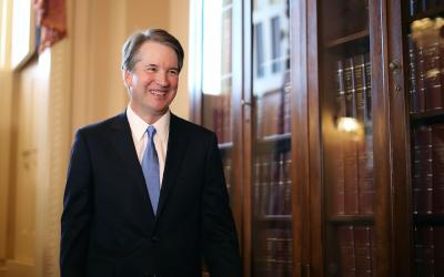Judge Brett Kavanaugh at the U.S. Capitol in Washington, D.C., July 10, 2018. (Chip Somodevilla/Getty Images)