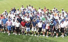 The day's golfers (Photos courtesy JCCOTP)