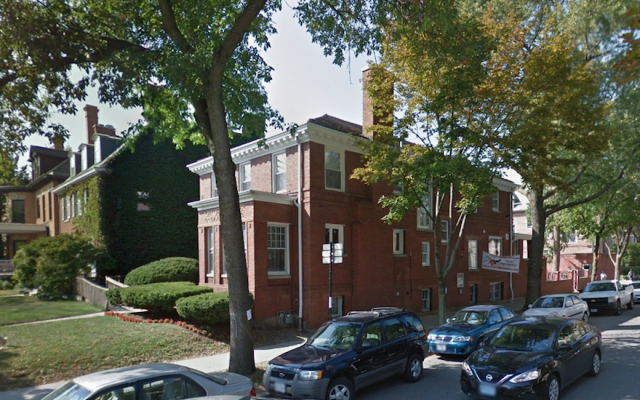 An Iranian citizen was charged with conducting surveillance on a Chabad house on the University of Chicago campus. (Google Street View)