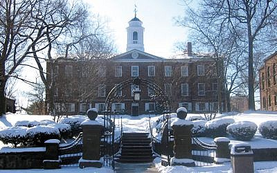 The Old Queens building at Rutgers University in New Brunswick. (Wikimedia Commons)