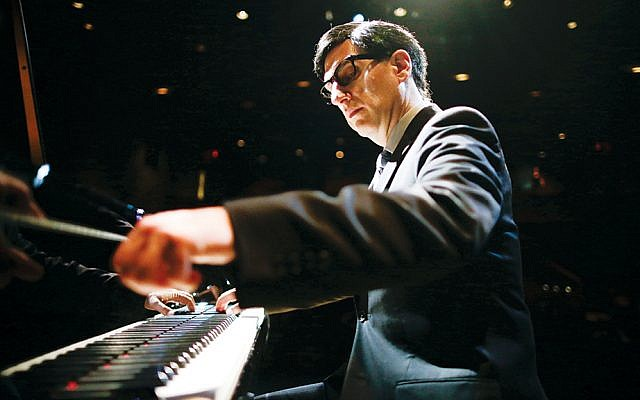 Hershey Felder portrays Irving Berlin from a young composer to a frail centenarian.