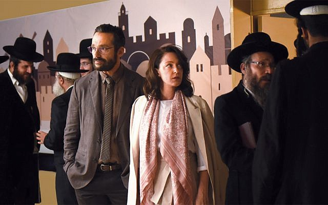 """A scene from """"The Other Story,"""" premiering at the Toronto International Film Festival."""