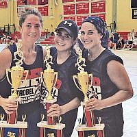 Elana Goldstein, Raquel Anidjar-Haboura, and Rachel Stahler were the women's winners.