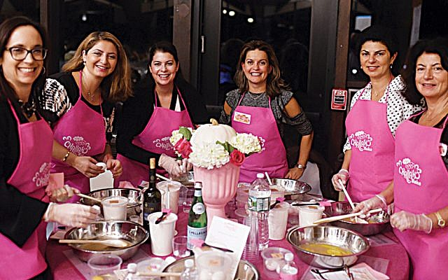 Taken at last year's challah baking event. (Courtesy Chabad)