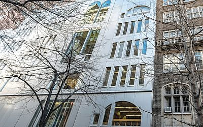 The Ramaz School's Morris and Ida Newman Education Center is on Manhattan's Upper East Side. (Manhattan Sideways)