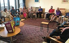A meeting of the Interfaith Encounter Association in Israel.