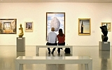 """A scene from the movie, """"The Museum."""""""