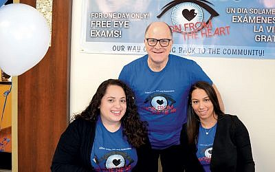 Dr. Alden Leifer, Florencia Di Costanzo, and Clarissa Ynoa all worked on Vision from the Heart.
