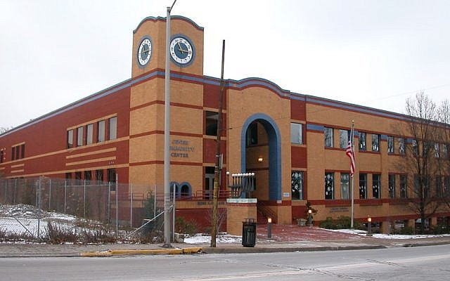 A view of the Jewish Community Center of Squirrel Hill, Pittsburgh's most Jewish neighborhood. (Wikimedia Commons)