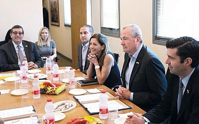 Governor Phil Murphy meeting with Israel's National Technological Innovation Authority