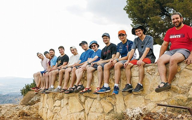 The students take trips as part of the program. (Photos Courtesy Torah Tech)